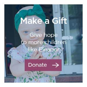 Donate to help more kids like Eleanor